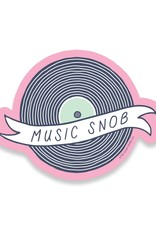 Little goat paper company Sticker: Music Snob