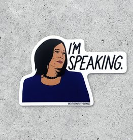 Citizen Ruth Sticker: Kamala I'm speaking