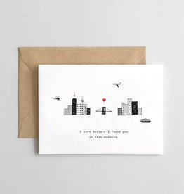 Spaghetti and Meatballs Card - Love: Found you  madness