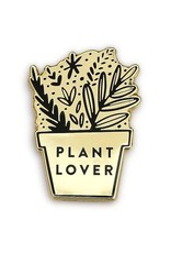 Old English Co. Enamel Pin : Plant Lover