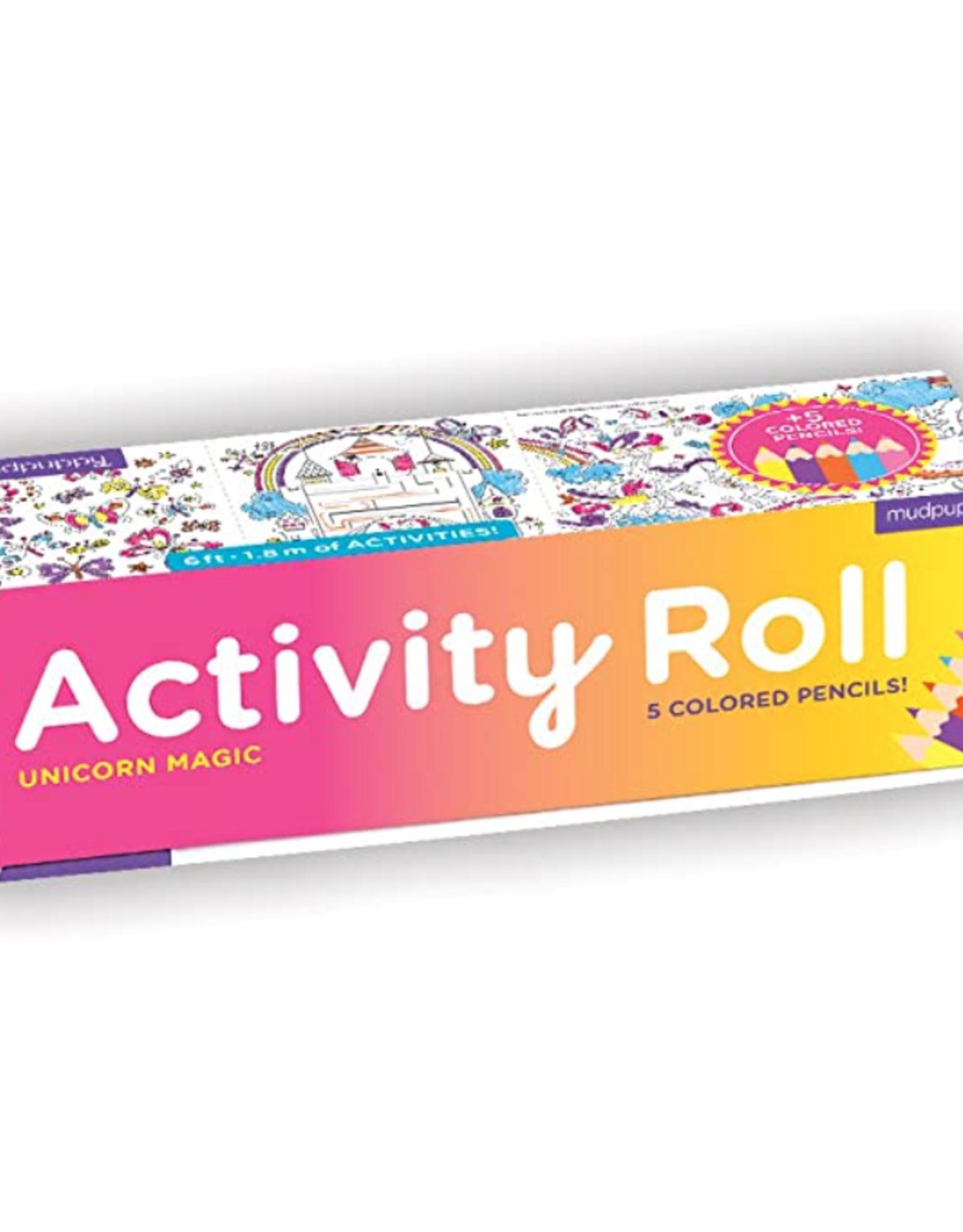 Chronicle Books Activity Roll: Unicorn Magic