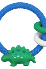 Itzy Ritzy Silicone Baby Teether Rattle Rings
