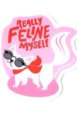 Rhino Parade Sticker - Feline myself
