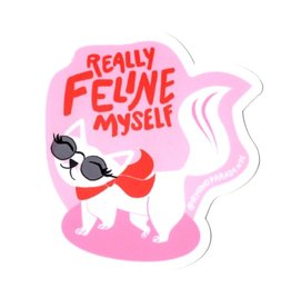 Rhino Parade Sticker - Feline myself