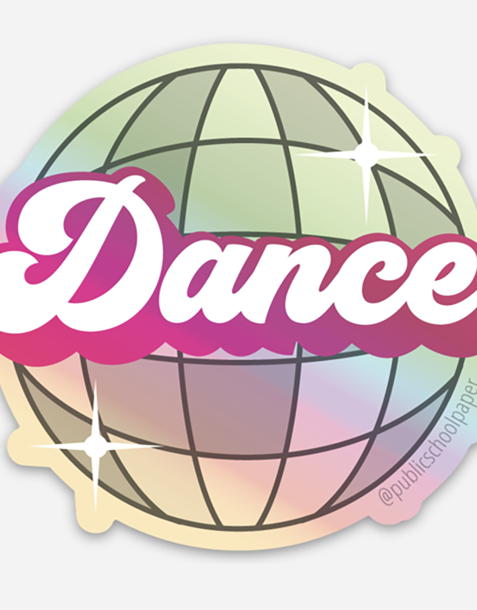 Public School Paper Co. Sticker: Dance