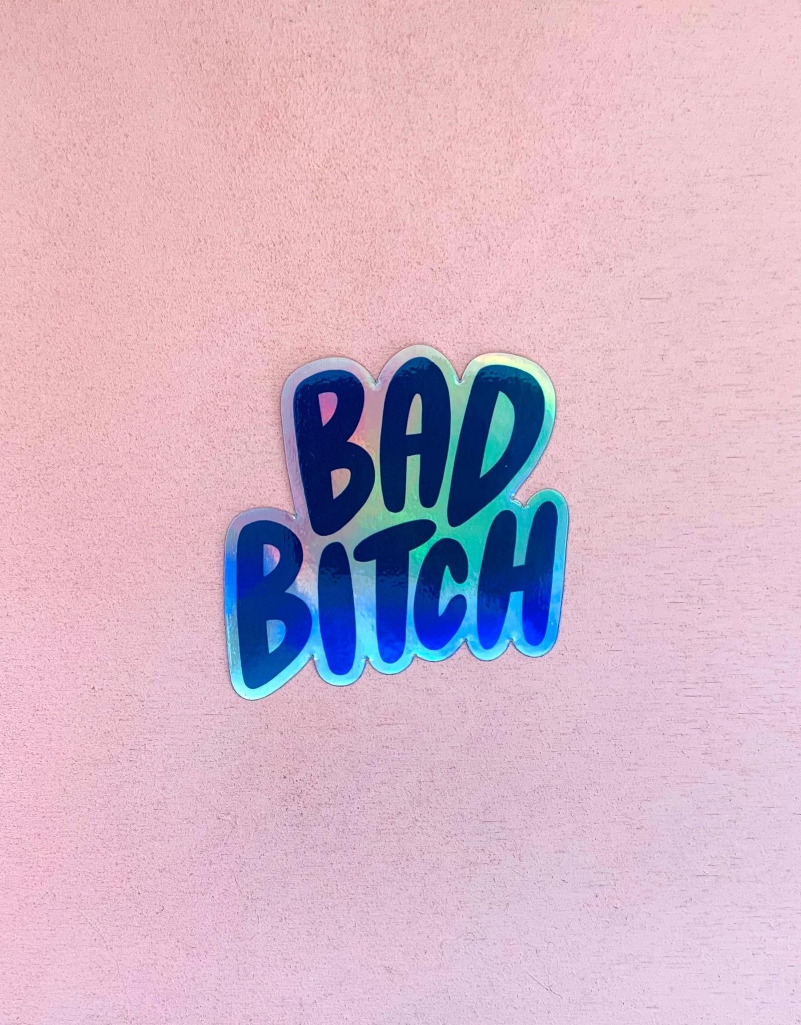Craft Boner Sticker: Bad Bitch