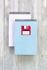 Public School Paper Co. Spiral Notebook: Floppy Disc