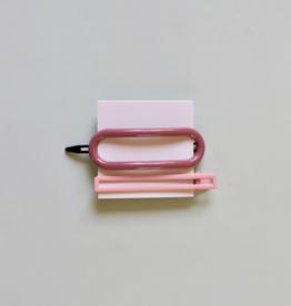 Nat & Noor Hair Clips - Byron in Pink