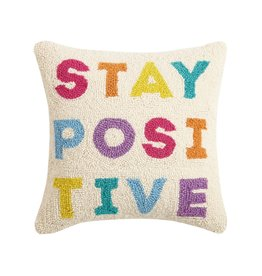 Peking Handcraft Pillow: Stay Positive