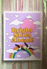 Ash & Chess Art Print - 11x14 - Bright Skies Ahead