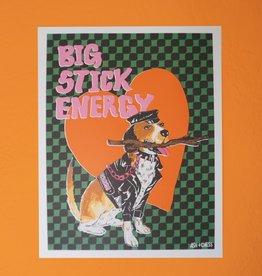 Ash & Chess Art Print - 11x14 - Big Stick Energy
