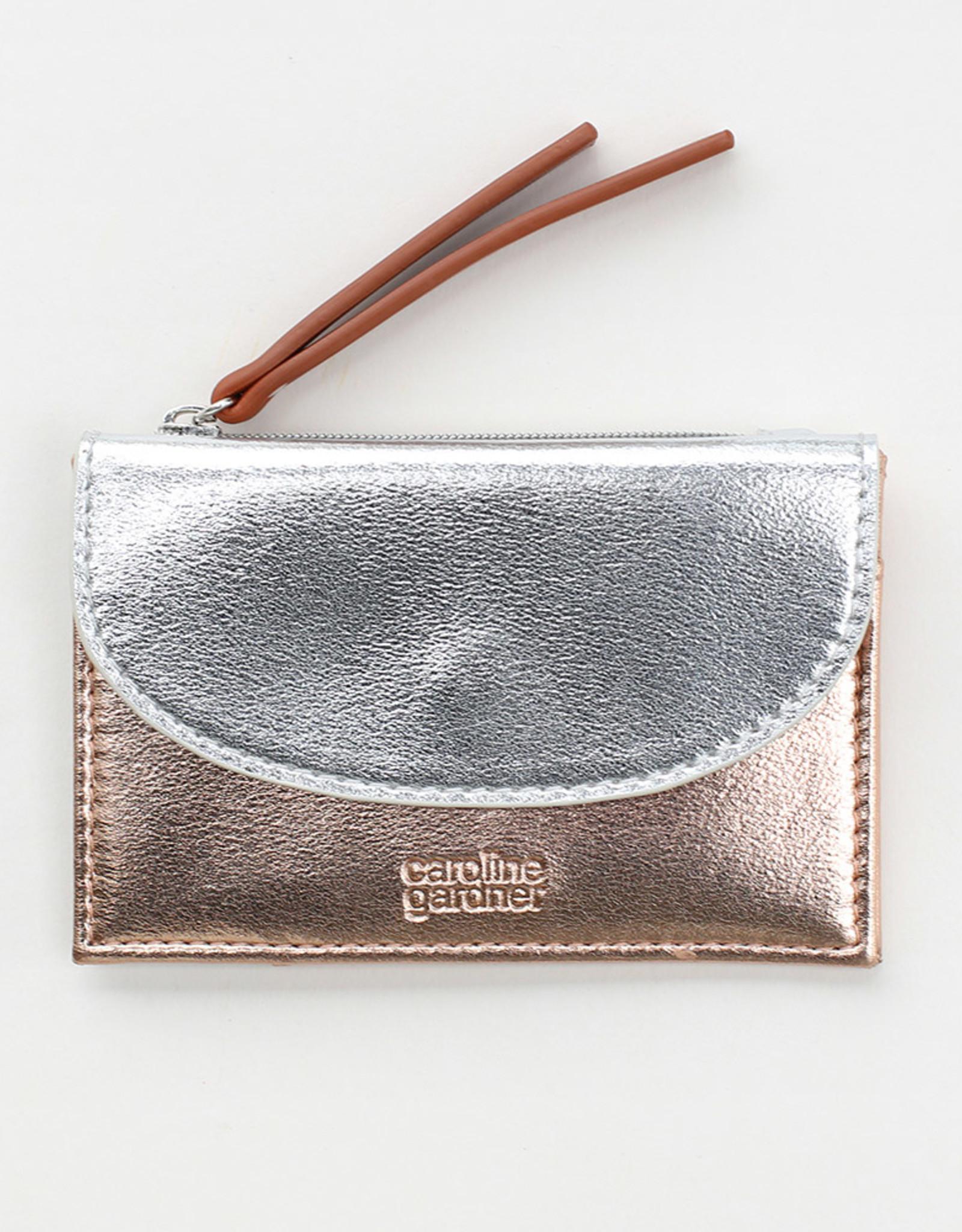 Caroline Gardener Wallet: Cardholder with coin purse
