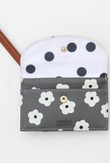 Caroline Gardener Cardholder Wallet with coin purse - Gold and Daisy