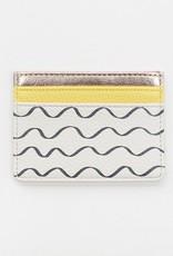 Caroline Gardener Wallet: Cardholder Waves