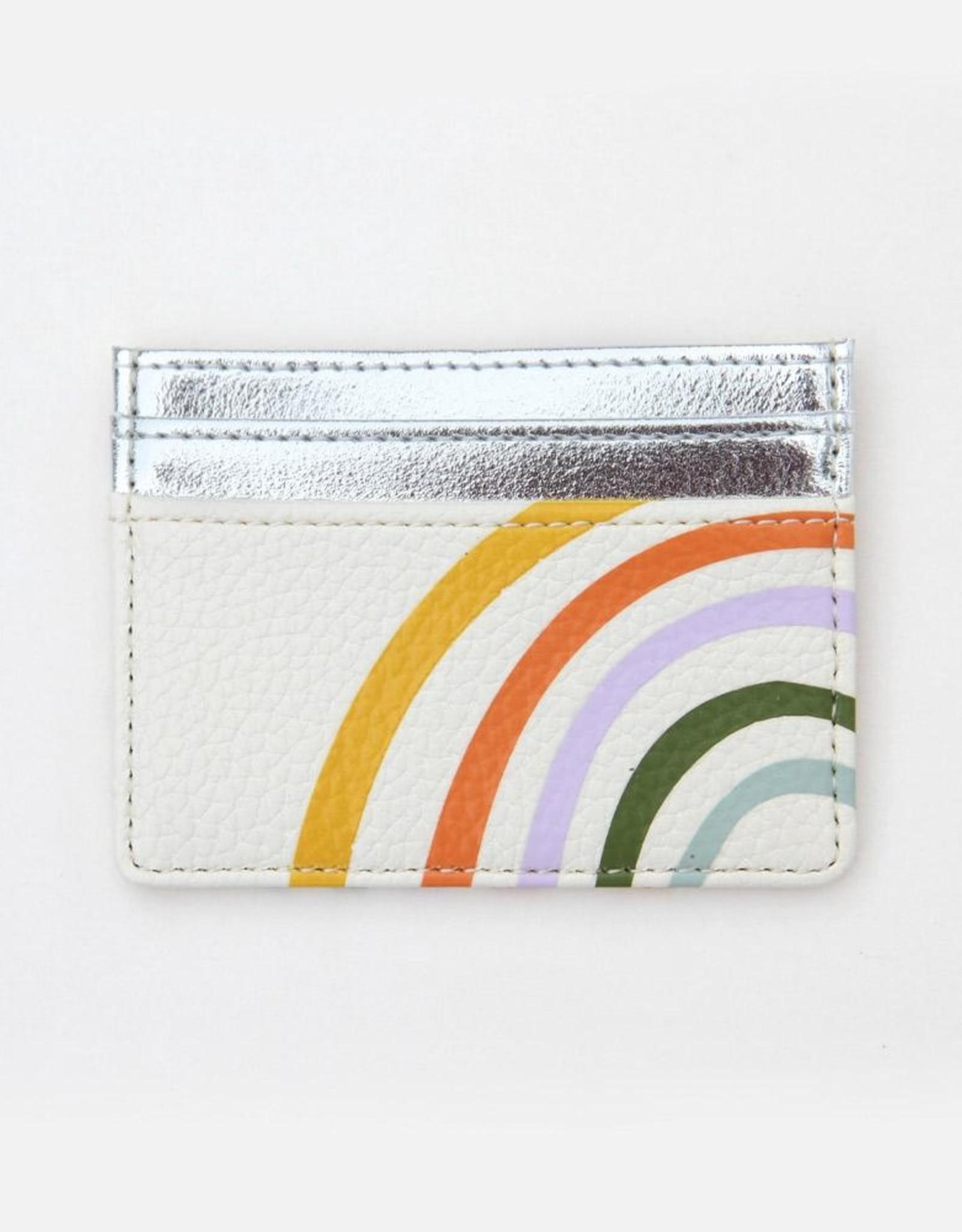 Caroline Gardener Wallet: Cardholder Rainbow
