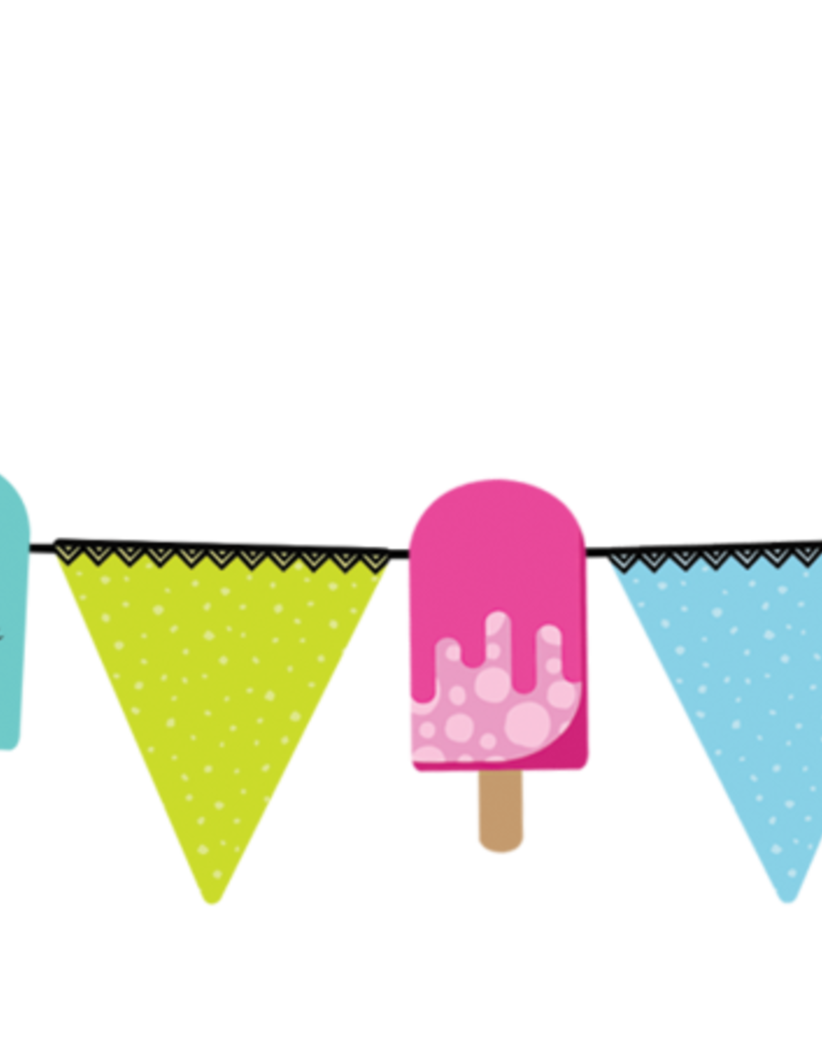 Party Partners Banner - Ice pops