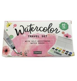 Streamline Travel Watercolor Set