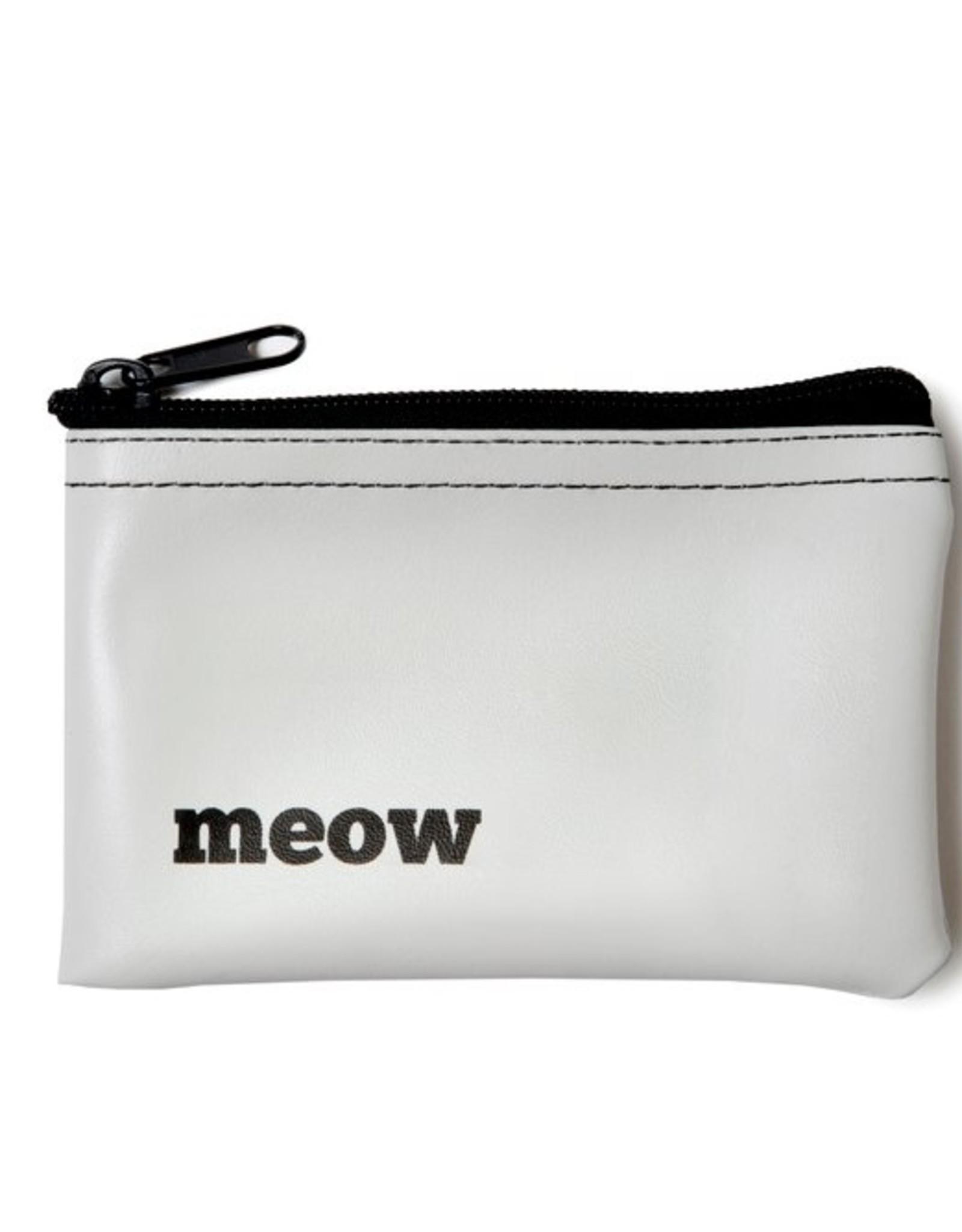 He Said She Said Pouch: Meow