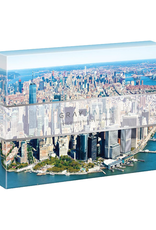 Chronicle Books Puzzle 500 piece double sided New York City