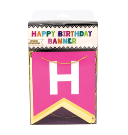 Party Partners Banner - Happy Birthday multi color