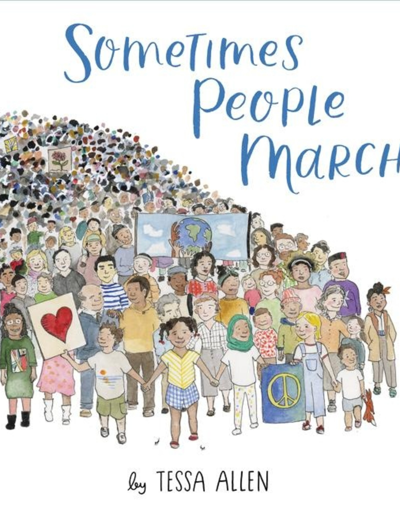 Harper Collins Sometimes People March
