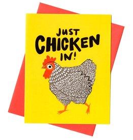 Rhino Parade Card - Blank: Chicken in