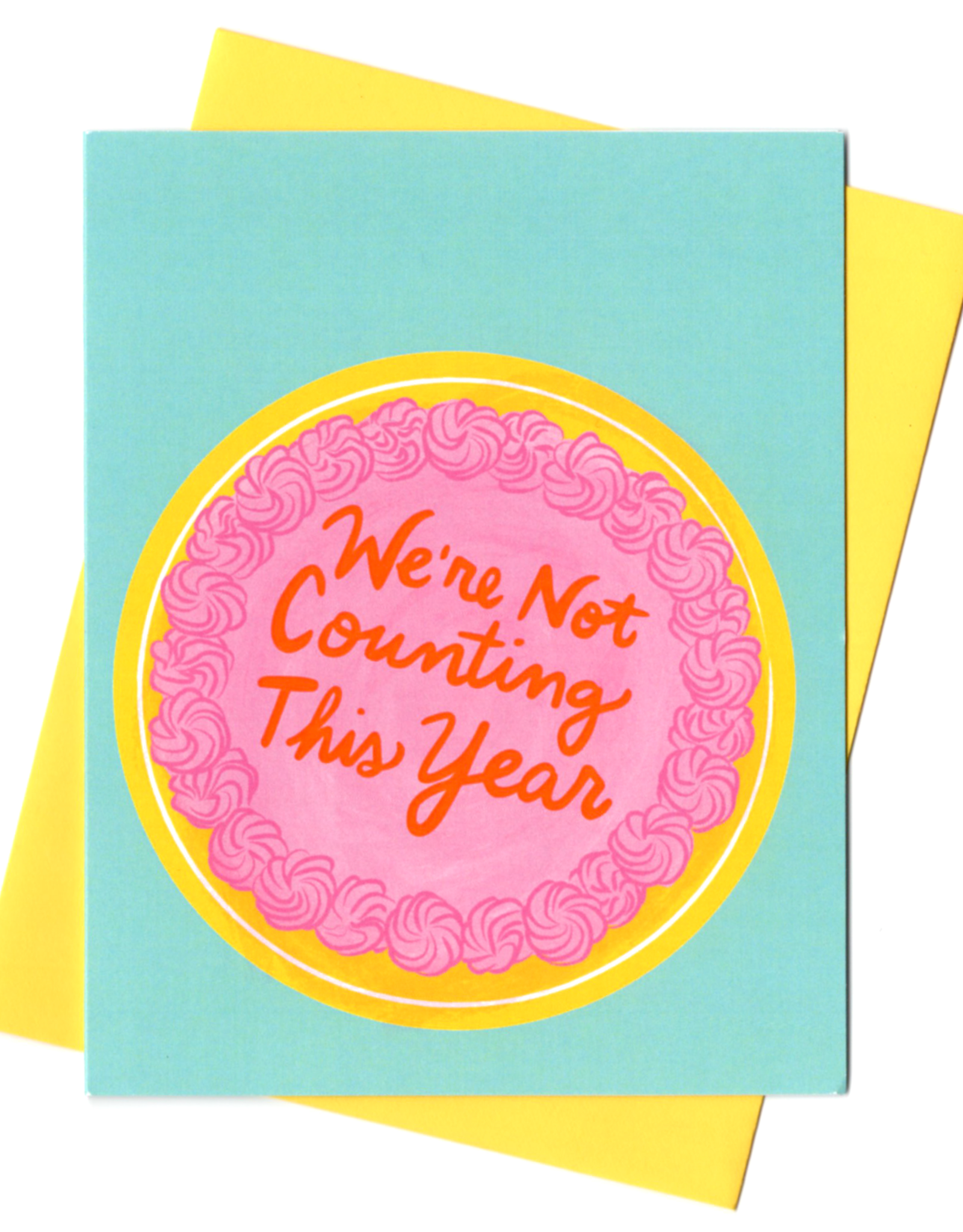 Rhino Parade Card - Birthday: Not counting this year