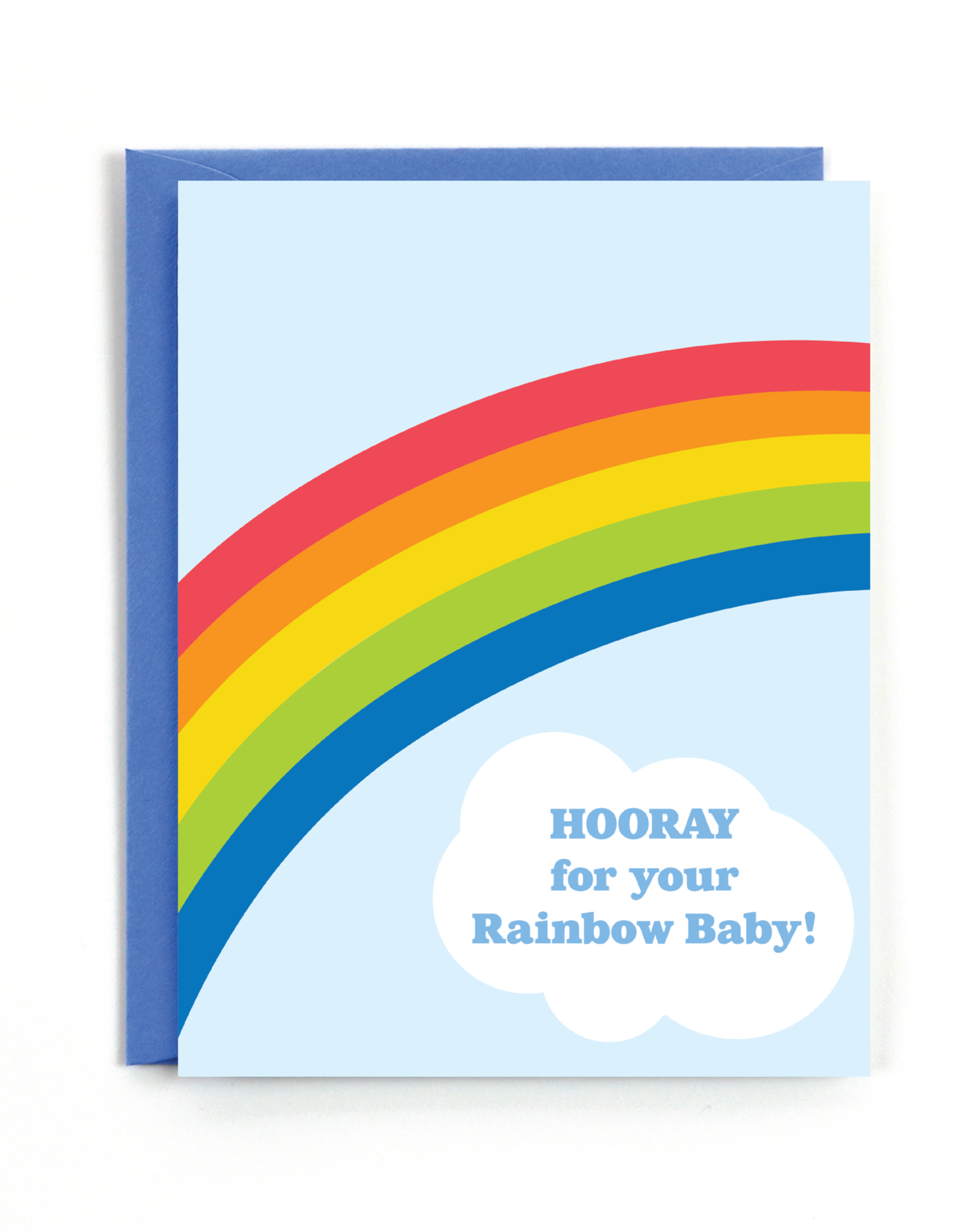 Public School Paper Co. Card - Baby: Rainbow baby