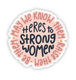 Twentysome Design Sticker - Strong Women