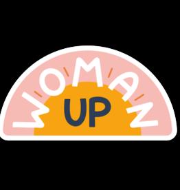 Twentysome Design Sticker - Woman Up