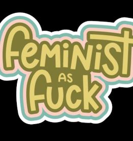 Twentysome Design Sticker - Feminist AF