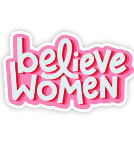 Twentysome Design Sticker - Believe Women