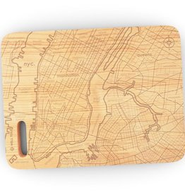 Well Told NYC Map Cutting Board