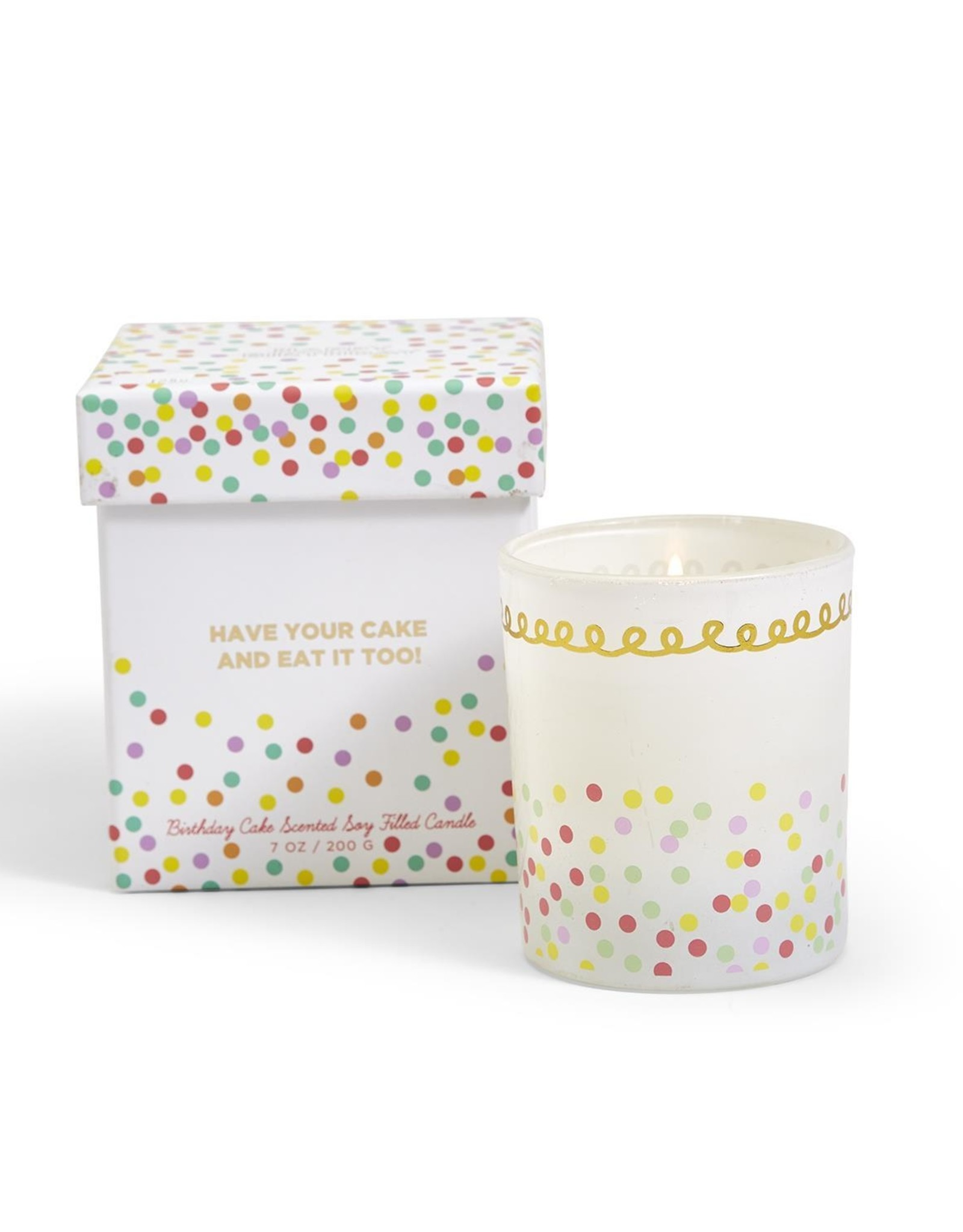 Two's Comapany Birthday Candle