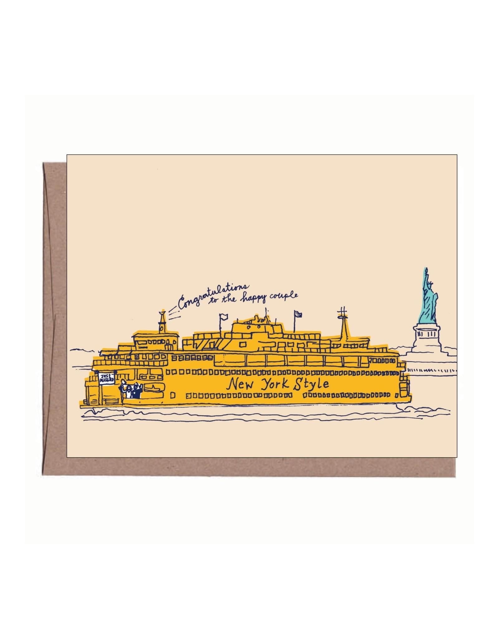 La Familia Green Card - Wedding: Staten Island Ferry