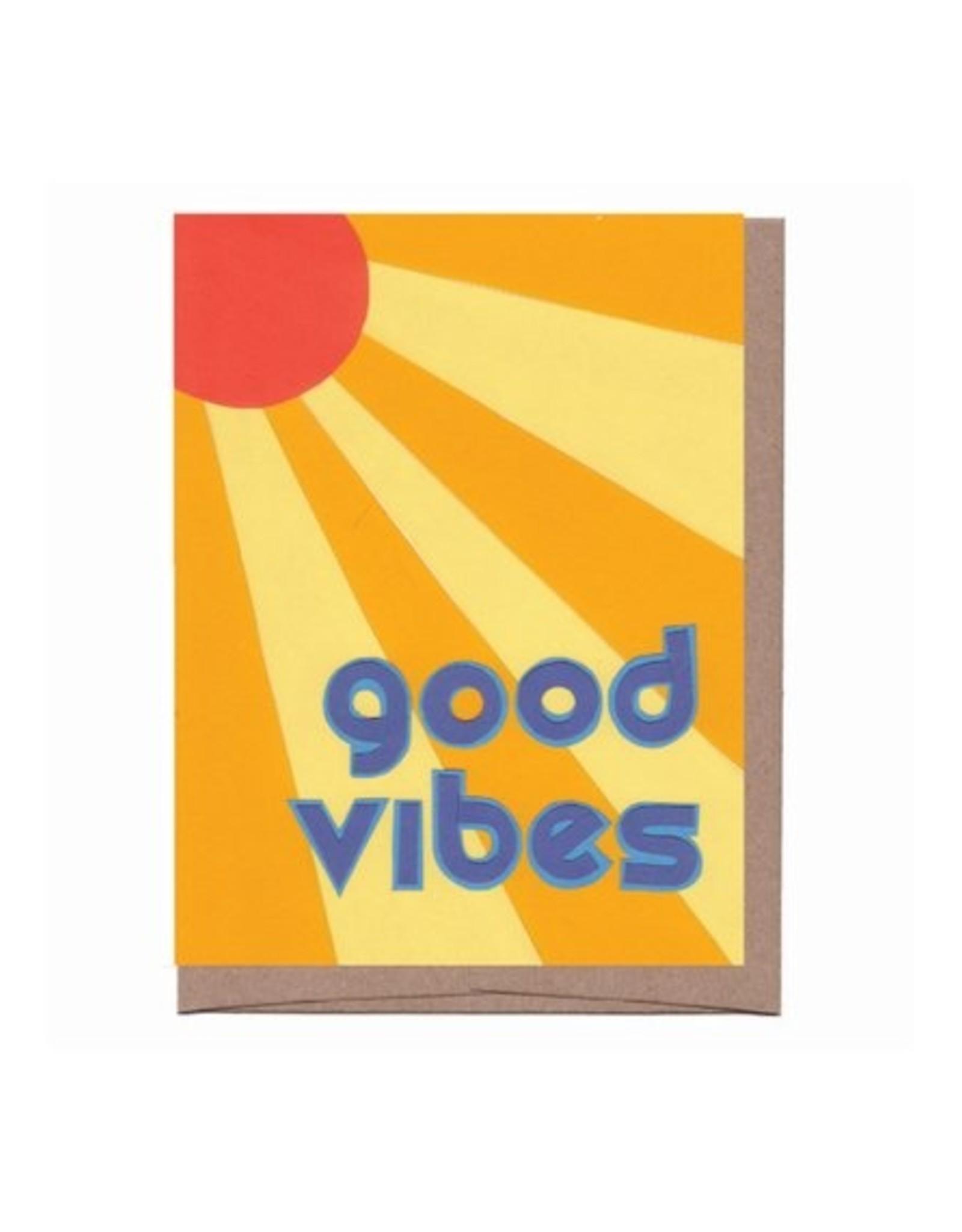 La Familia Green Card - Blank: Good Vibes