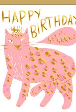 Egg Press Manufacturing Card - Birthday: Get it, Grrrl!