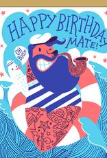Egg Press Manufacturing Card - Birthday: Mate