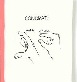 Pop & Paper Card: Congrats - Happy Jealous