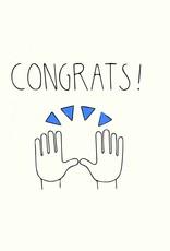 Pop & Paper Card: Congrats - Hands