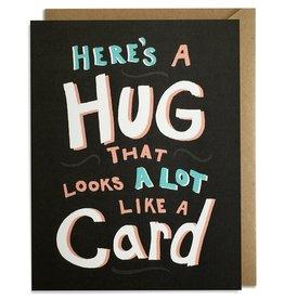 Kat French Card - Blank: Hug