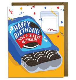 Kat French Card - Birthday: Cookies
