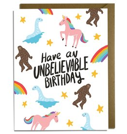 Kat French Card - Birthday: Unbelievable