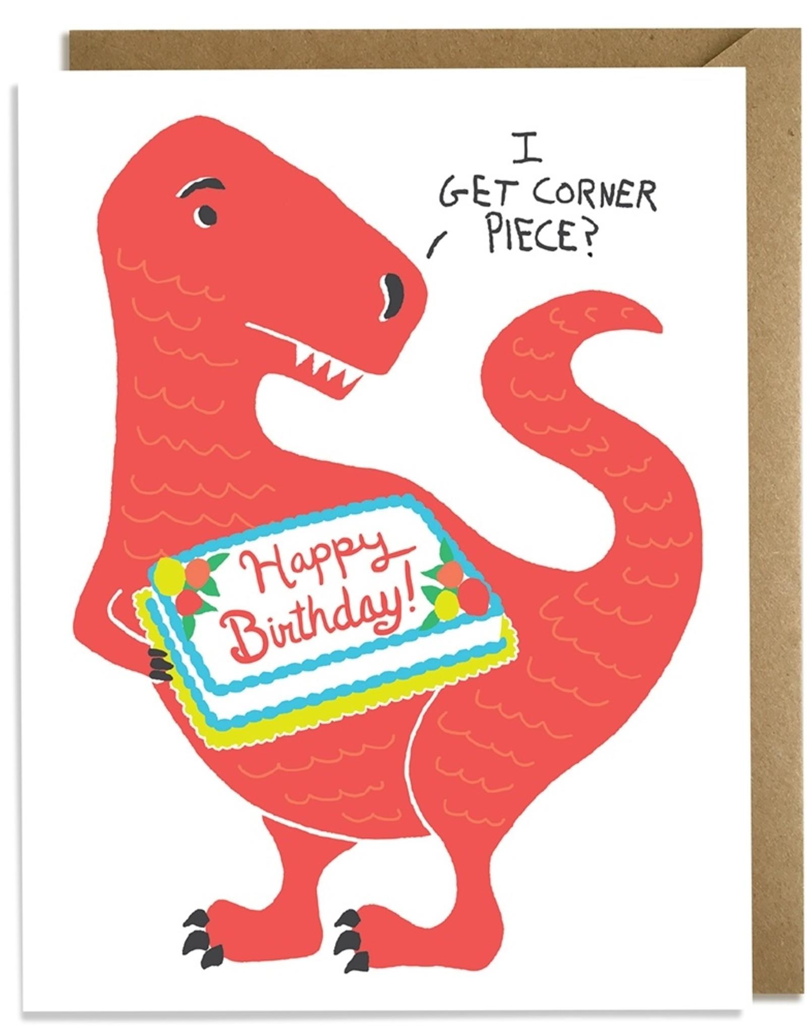 Kat French Card - Birthday: Corner Piece