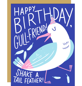 Egg Press Manufacturing Card - Birthday: Gull-Friend