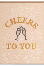 Daydream Prints Card: Congrats - Cheers to you