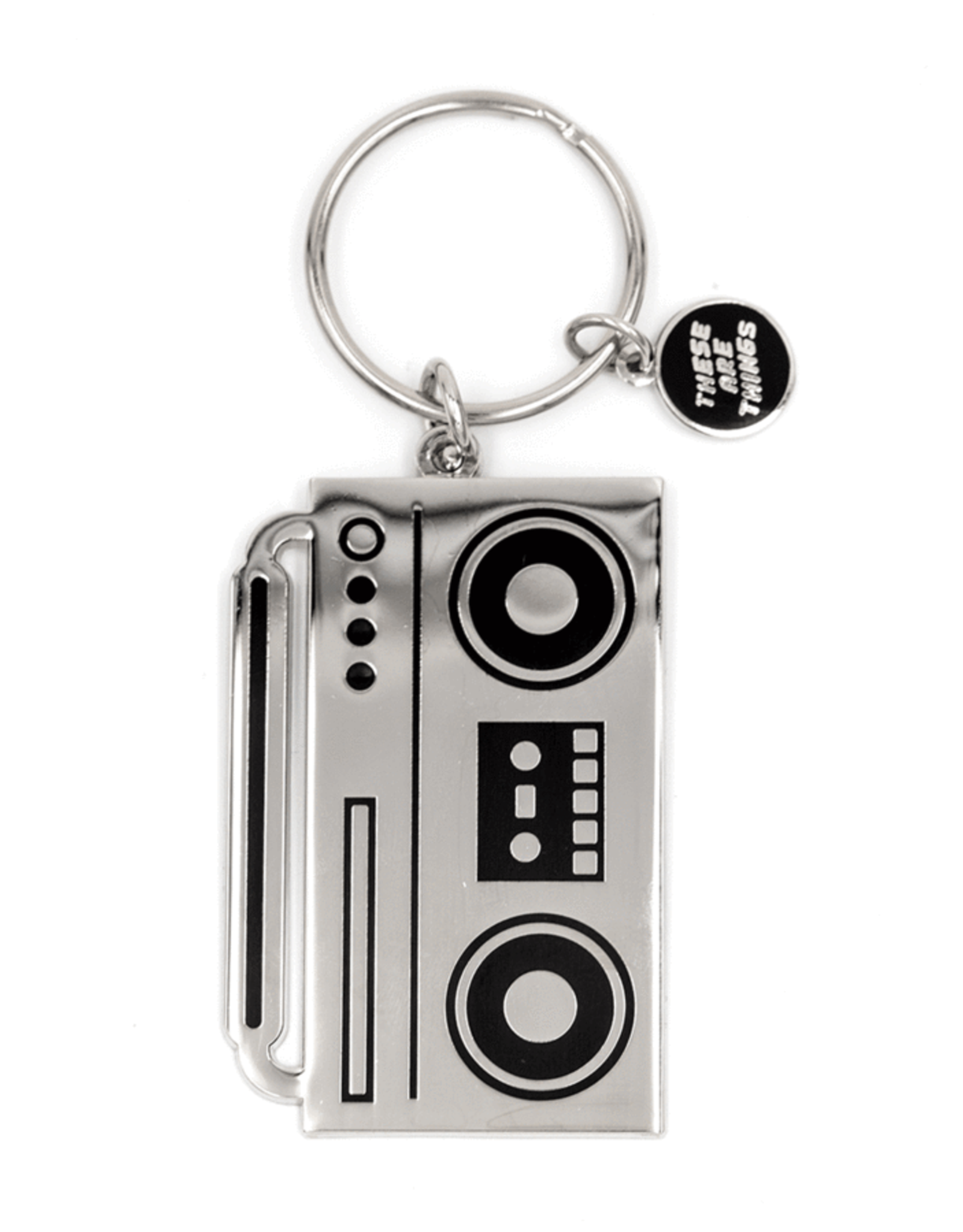 These Are Things Keychain - Boombox