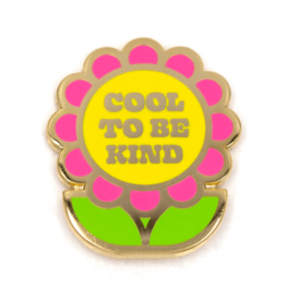These Are Things Enamel Pin - Cool to be kind