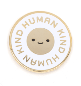 These Are Things Enamel Pin - Human kind
