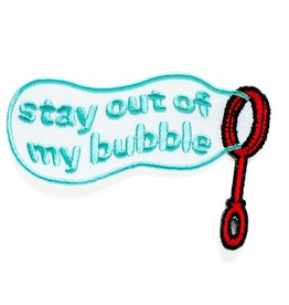 Smarty Pants Paper Company Patch - Stay Out of My Bubble